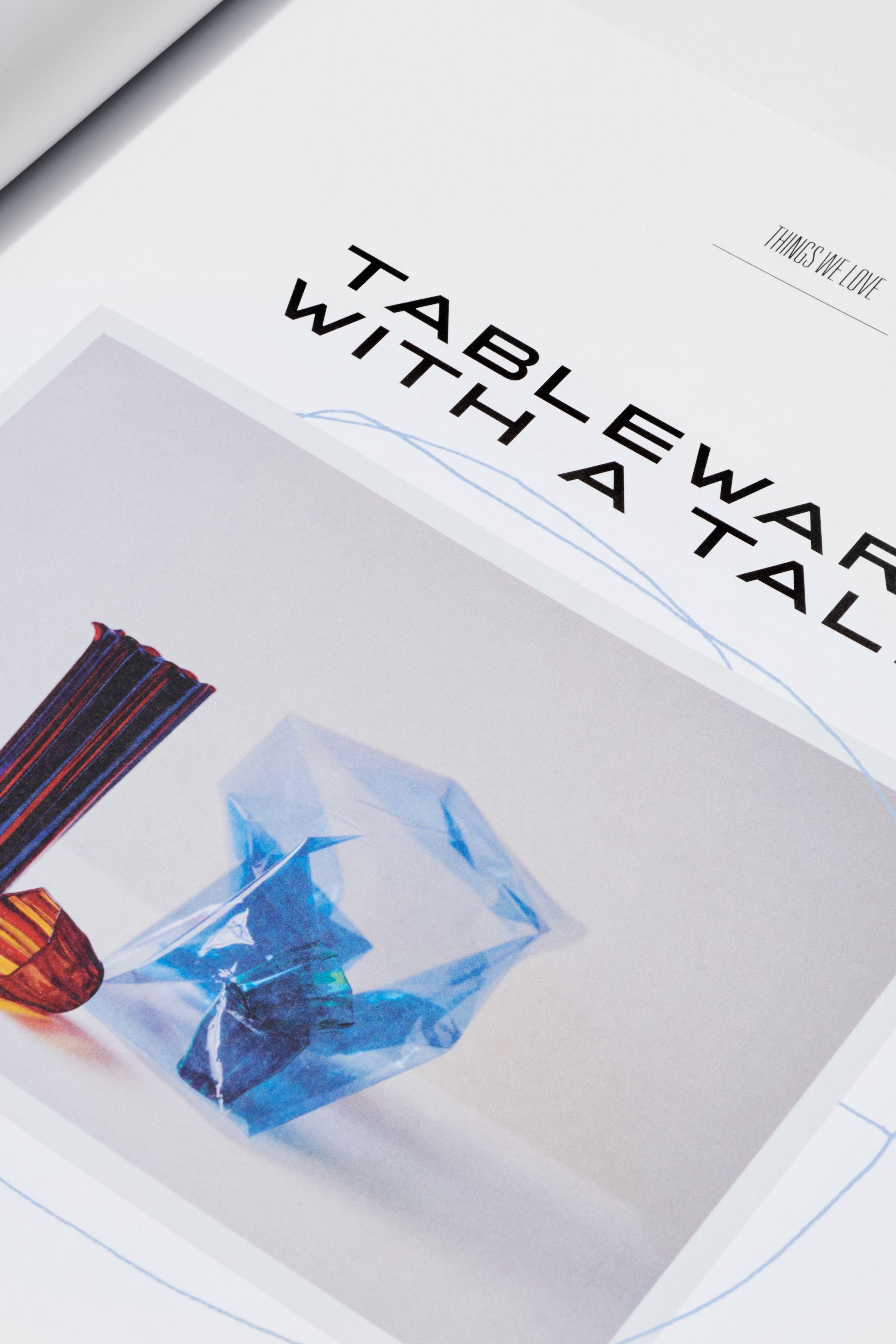 Rika Magazine issue no. 18 design detail