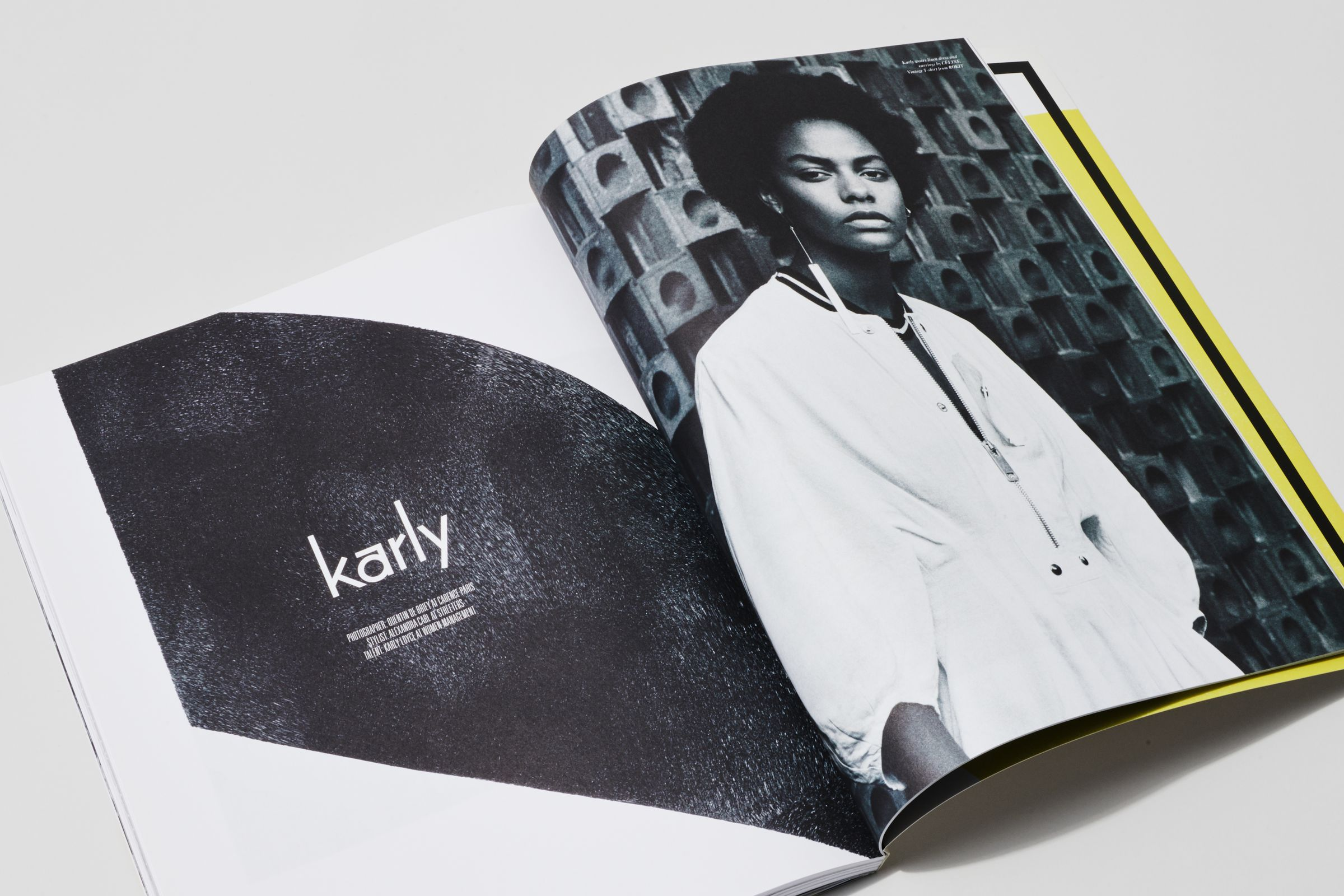 Rika Magazine issue no. 14 Karly Loyce photographed by Quentin de Briey
