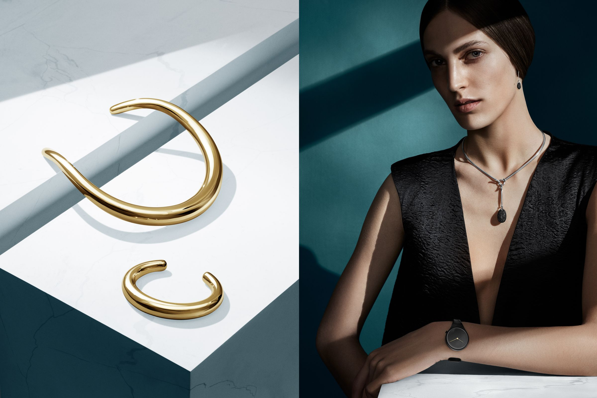 Georg Jensen campaign photographed by Hasse Nielsen