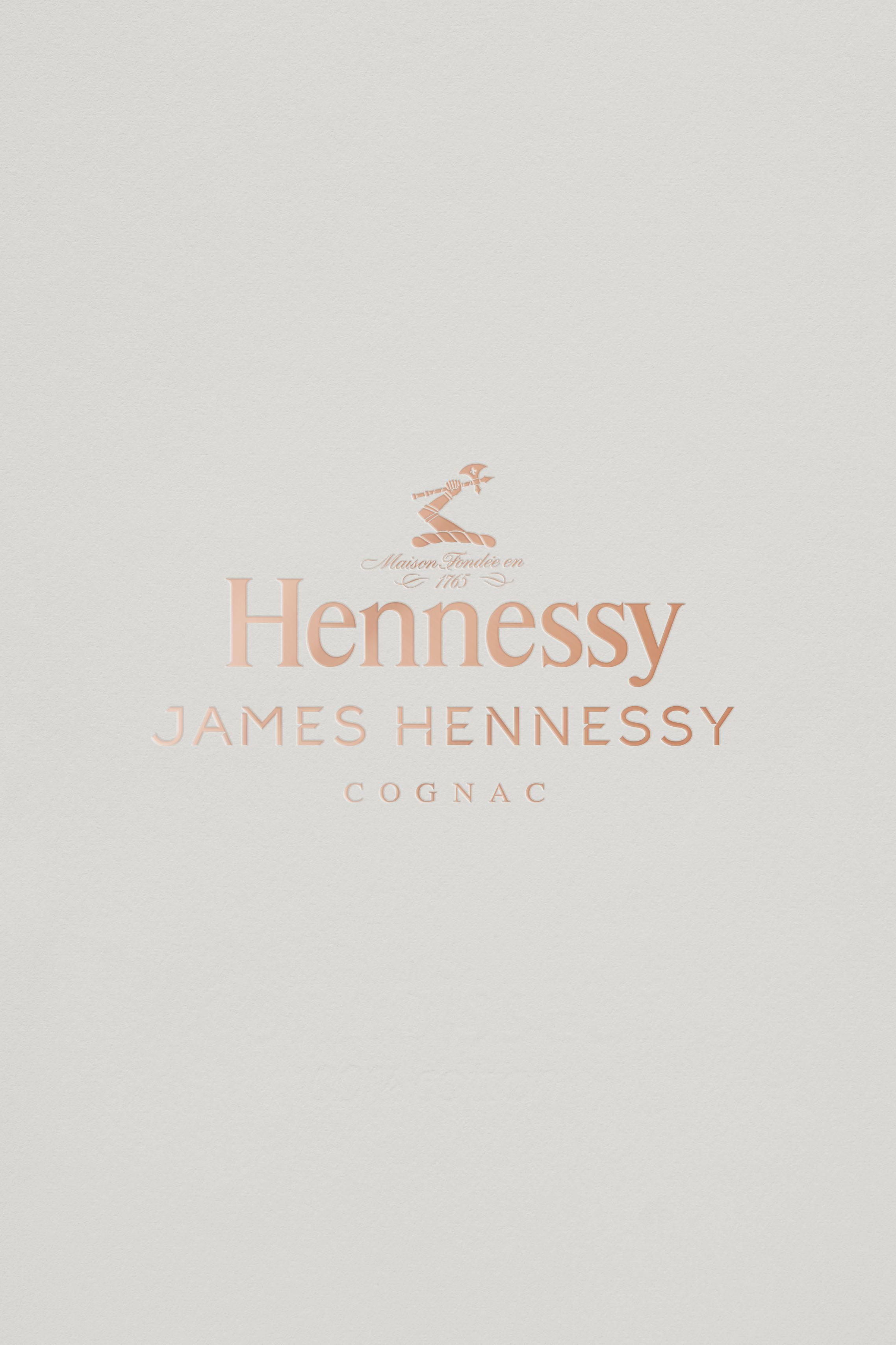 James Hennessy logo design