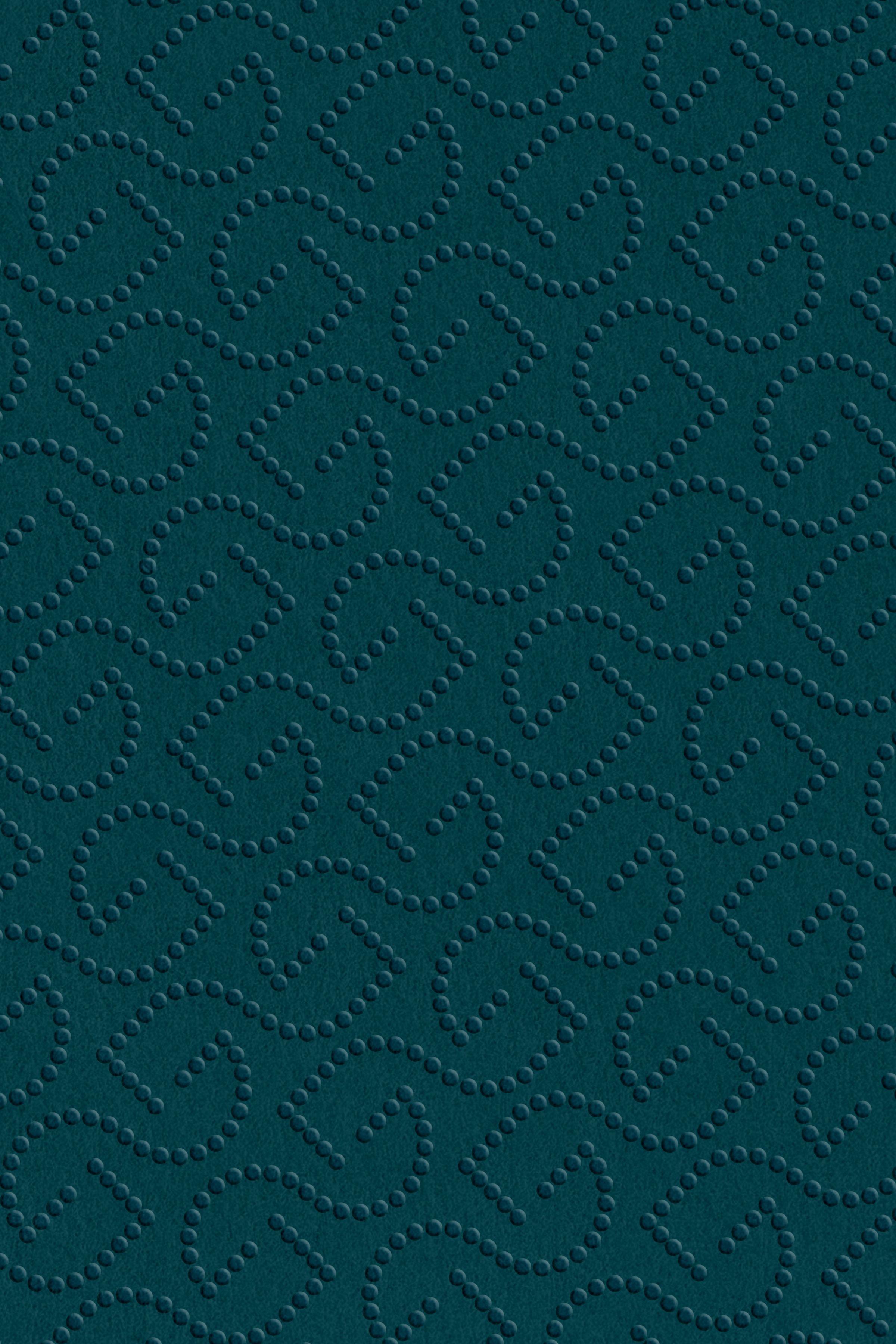 Georg Jensen makers mark pattern embossed in paper
