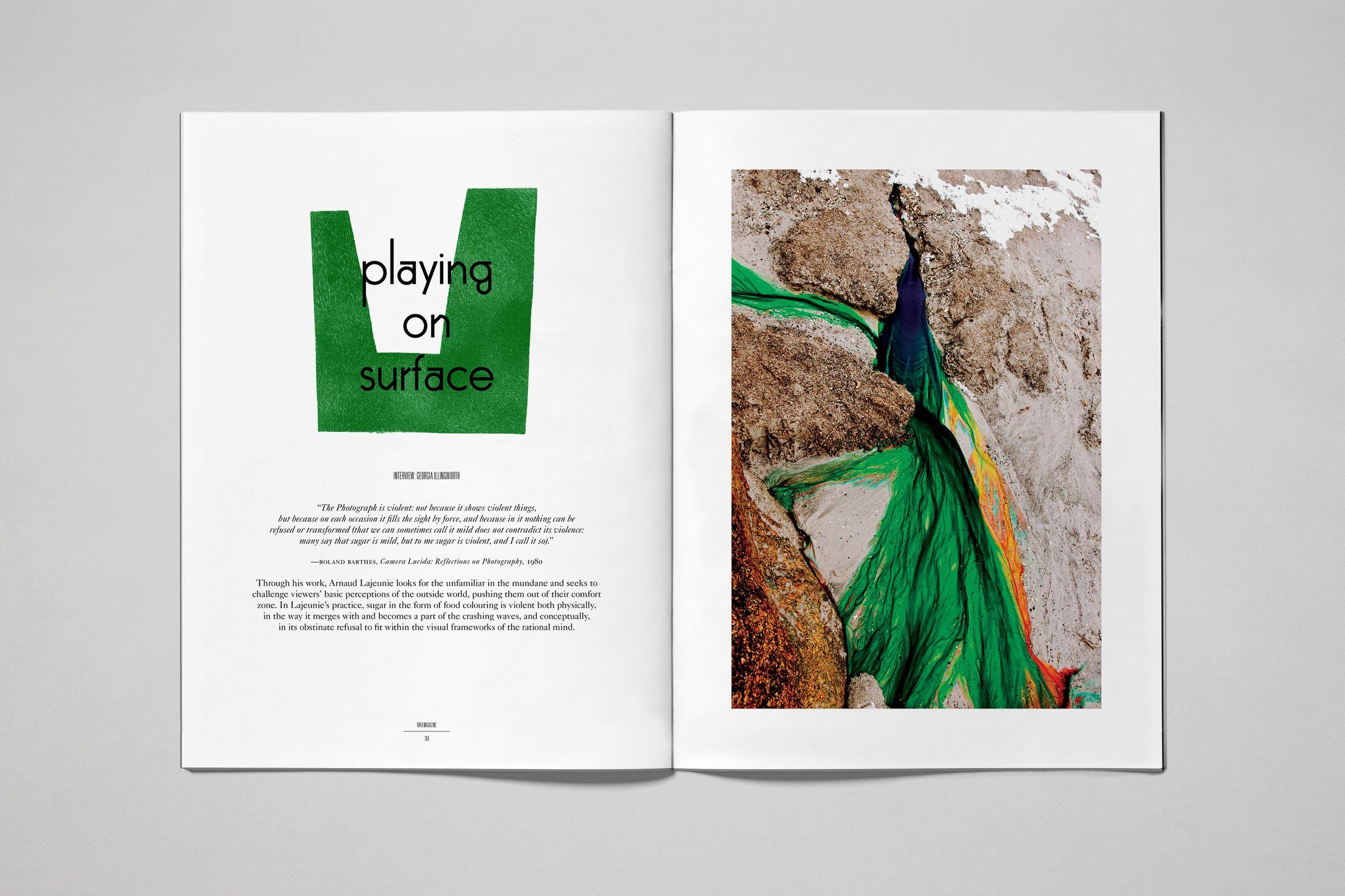 Rika Magazine issue no. 14 Arnaud Lajeunie