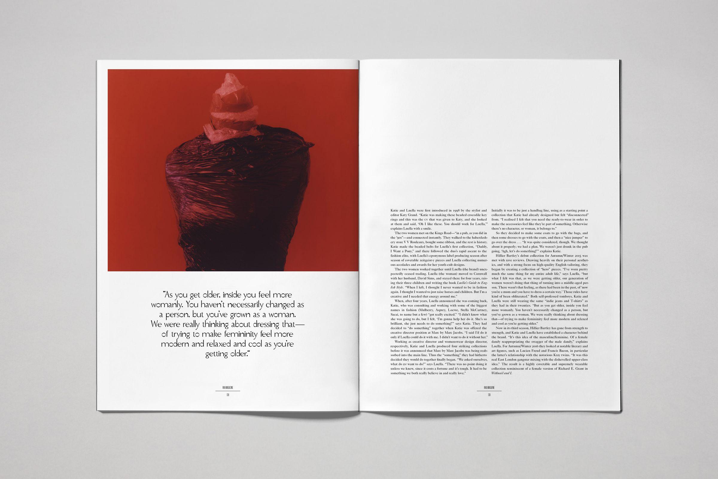 Rika Magazine issue no. 15 Hillier Bartley