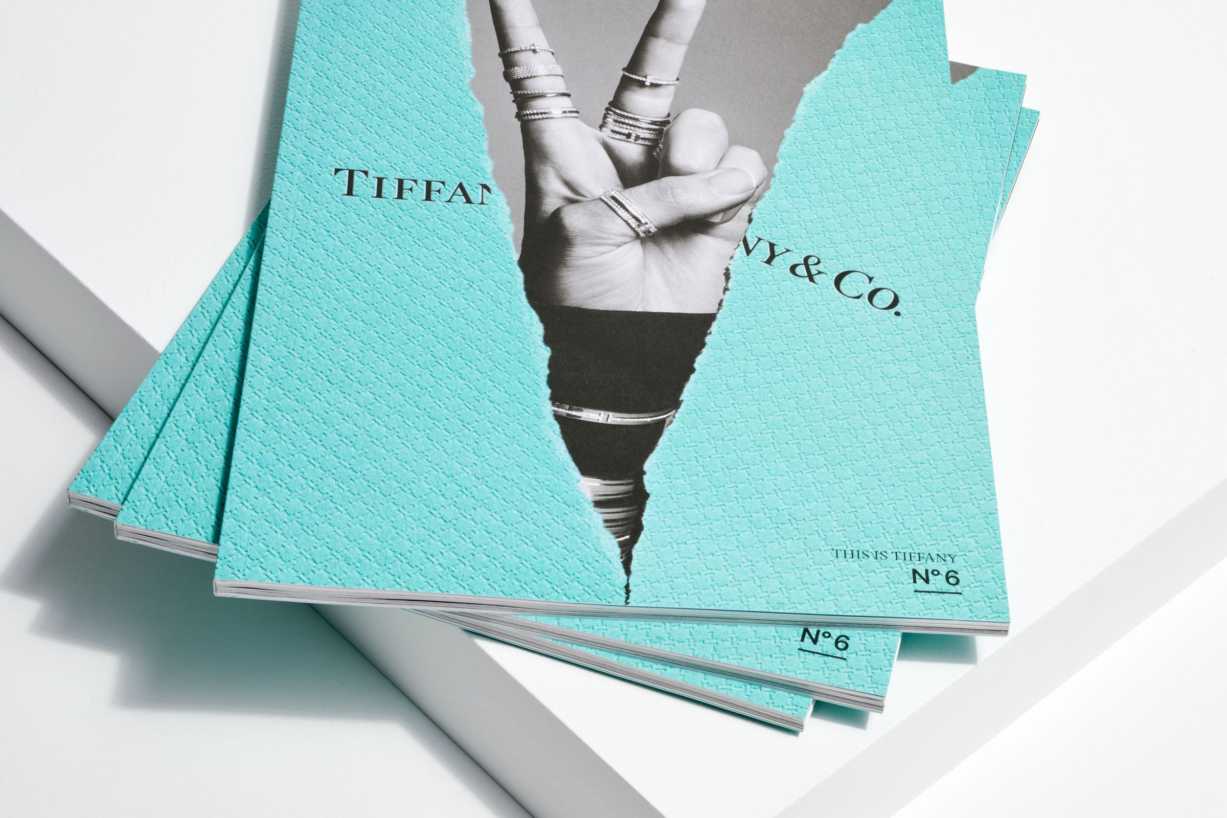 This is Tiffany magazine Issue 6 cover