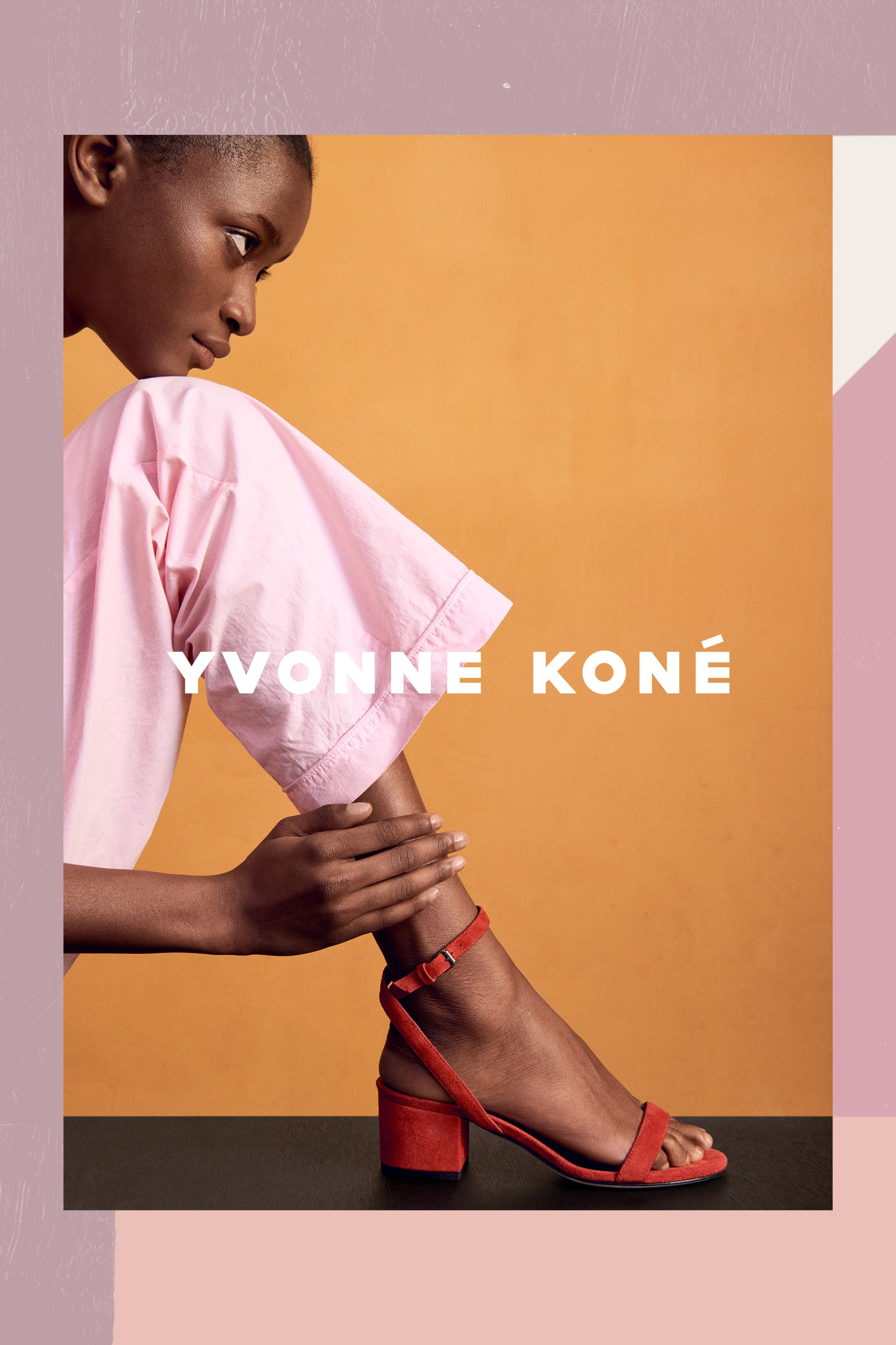 Yvonne Kone campaign photographed by Hasse Nielsen