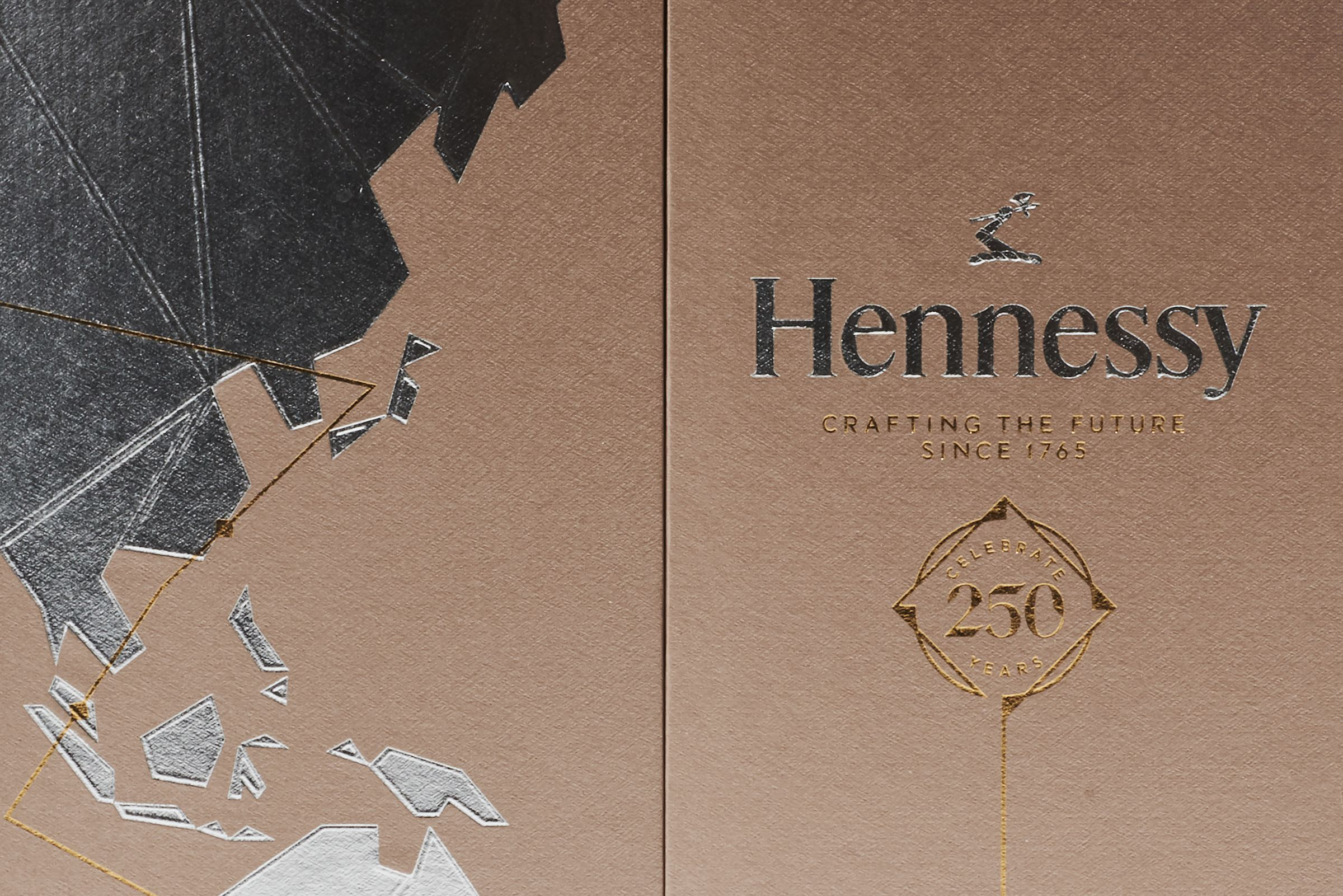 Hennessy 250 anniversary collector's blend box