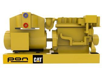 CAT C18 - Propulsion genset - 565 eKW 1800 RPM