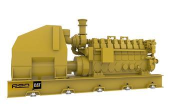 CAT C280-16 - Propulsion genset - 5060 bKW 900 RPM