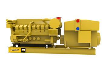 CAT 3516C - Propulsion genset - 2250 eKW 1800 RPM