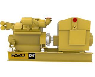 CAT C32 - Auxiliary genset, Propulsion genset - 940 eKW 1800 RPM