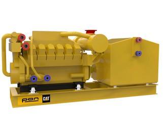 CAT 3512C  - Propulsion genset - 1700 eKW 1800 RPM