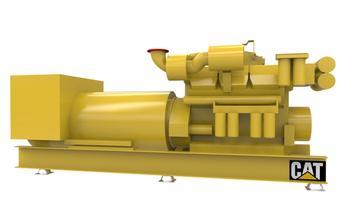 CAT C32 - Auxiliary genset - 940 eKW 1800 RPM