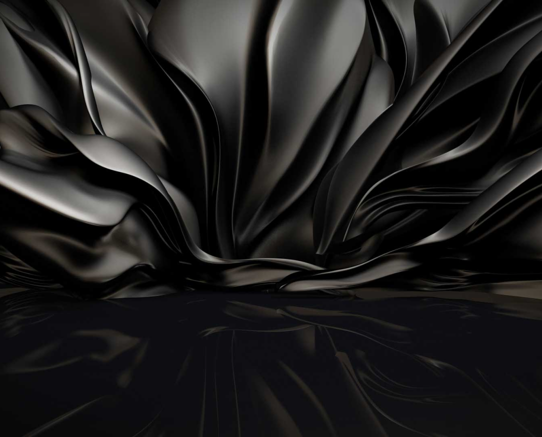 background silk black