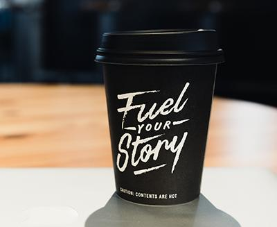 cup content fuel your story