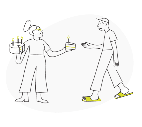 giving cake equity