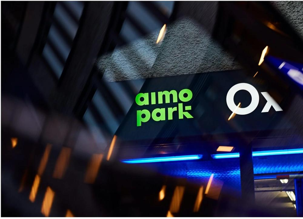 Aimo Park sign