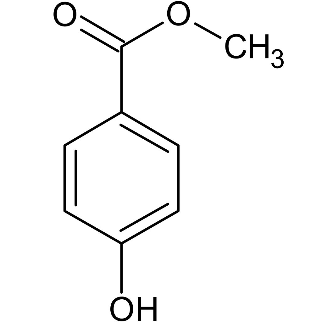 Methylparaben chemical structure