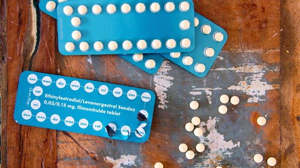 norethindrone acetate and ethinyl estradiol blue pill pack