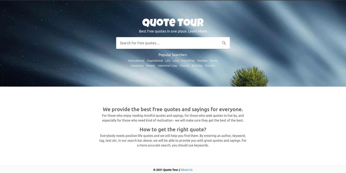 QuoteTour