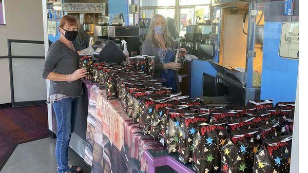 Coast Cinemas Donates Popcorn to Kids Bags