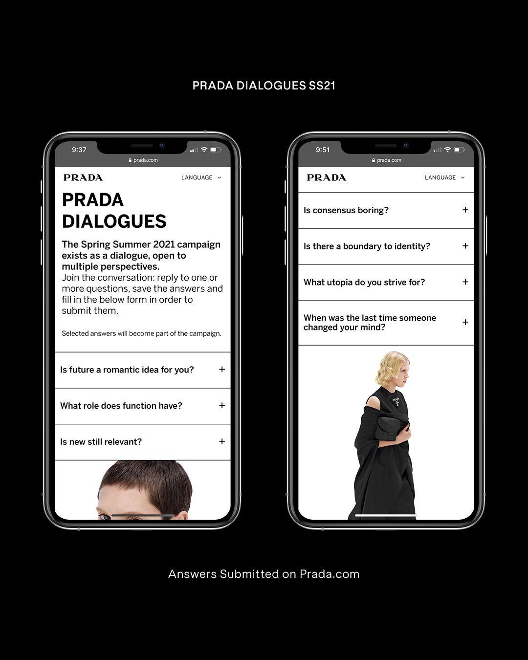 Prada SS21 Dialogues