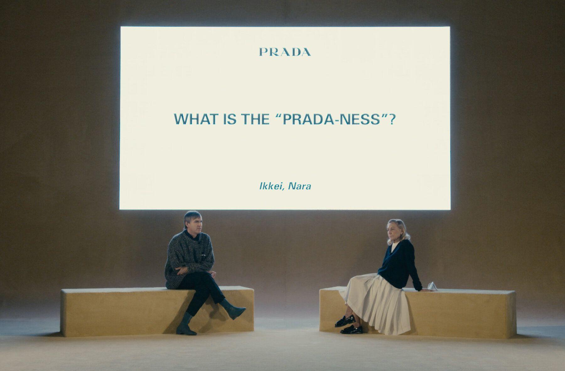Prada SS21 Post Show Q&A