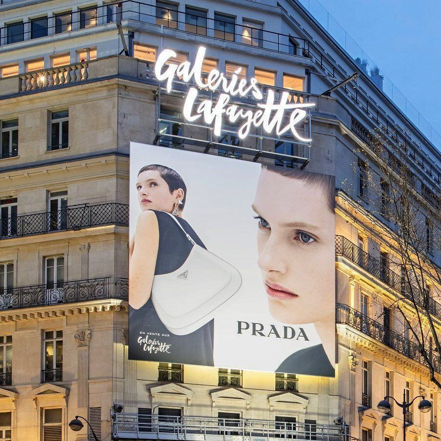Prada SS21 Dialogues Out of Home Placement