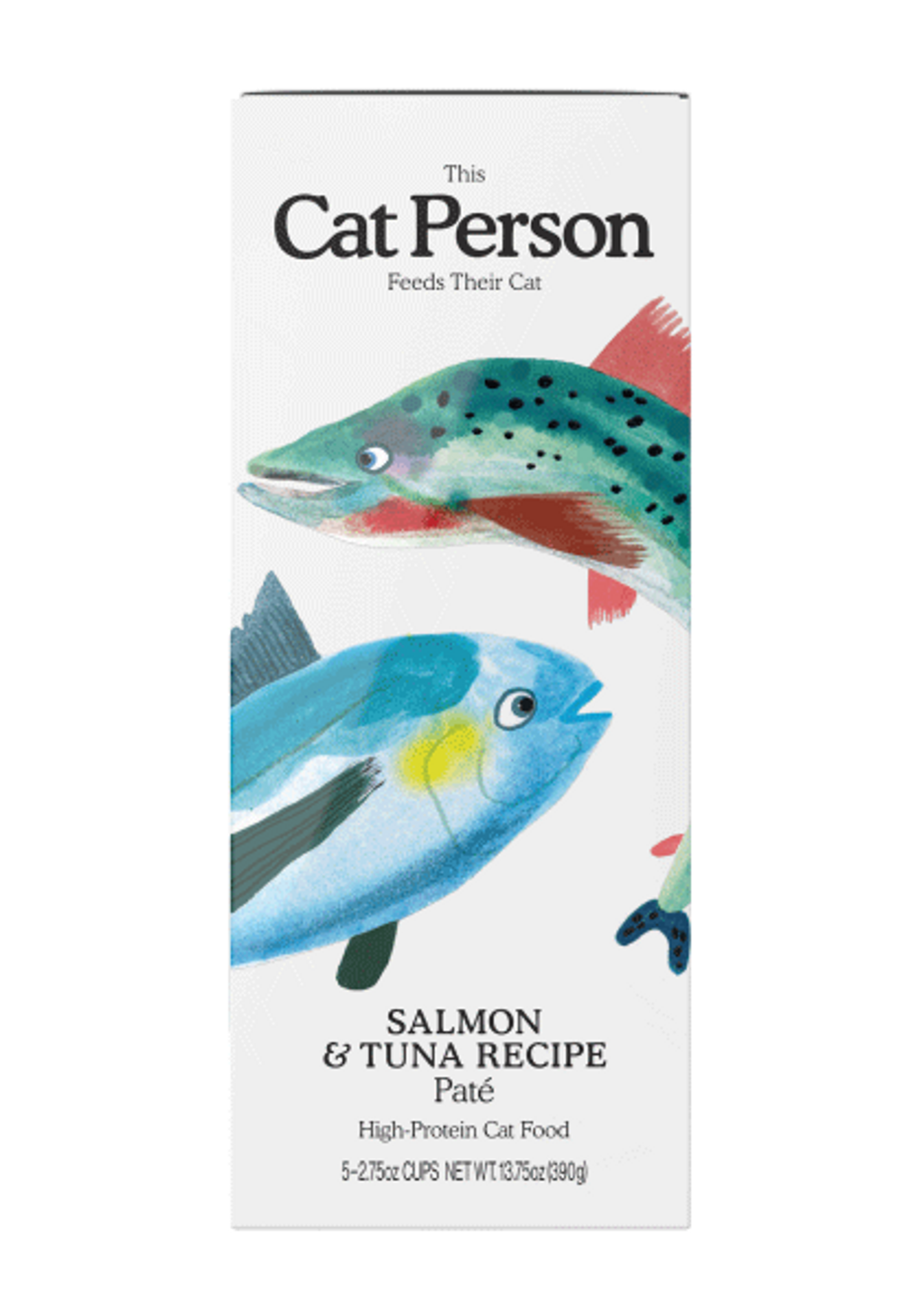 Sleeve of Cat Person s paté wet food