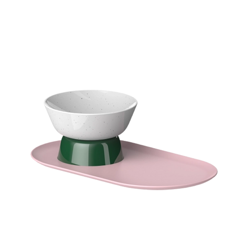 Cat Person mesa bowl in savanna colorway