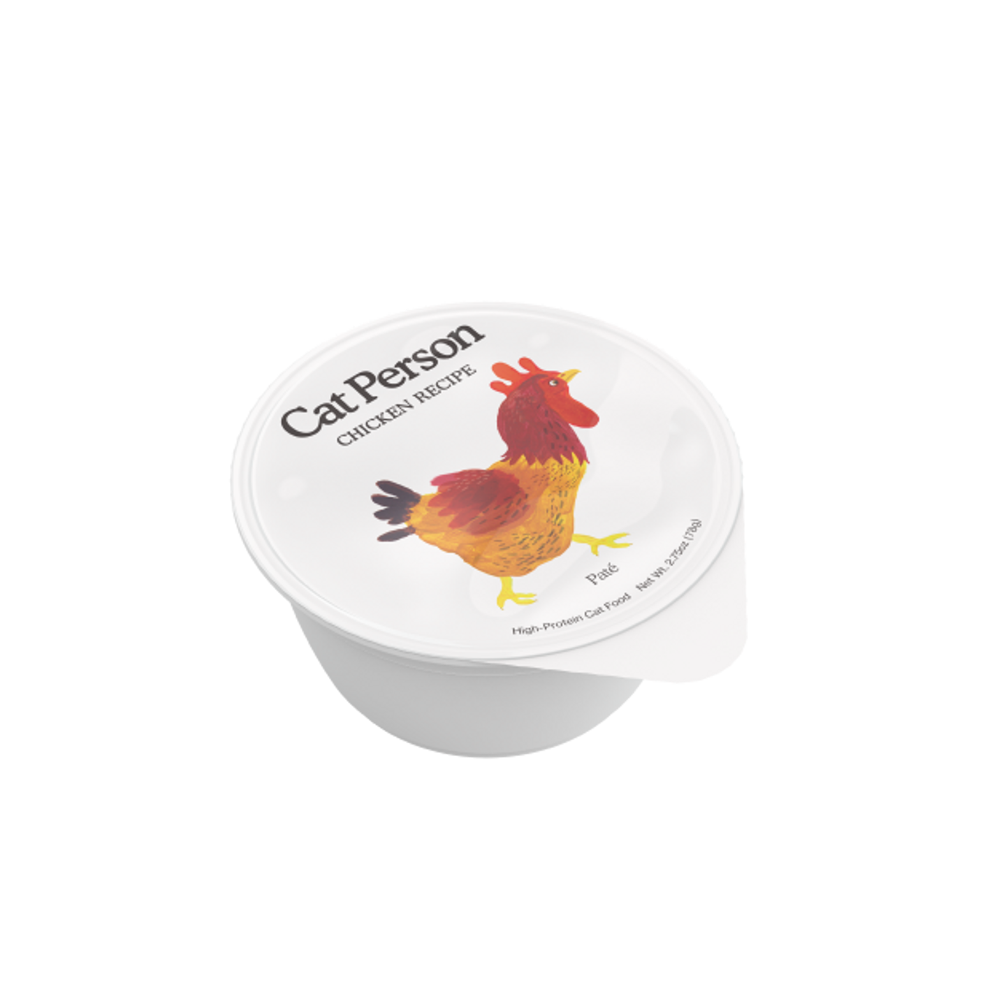 Cup of Cat Person chicken paté wet food
