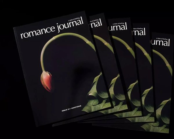 Romance Journal Issue 01 Cover –tulip buds. Publication design, art direction, print design, interviews by RoAndCo.