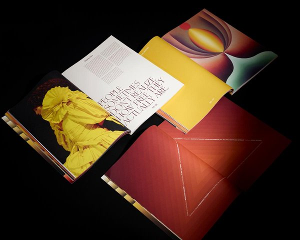 Romance Journal Issue 03 interior spreads.  Publication design, art direction, print design, edited by RoAndCo