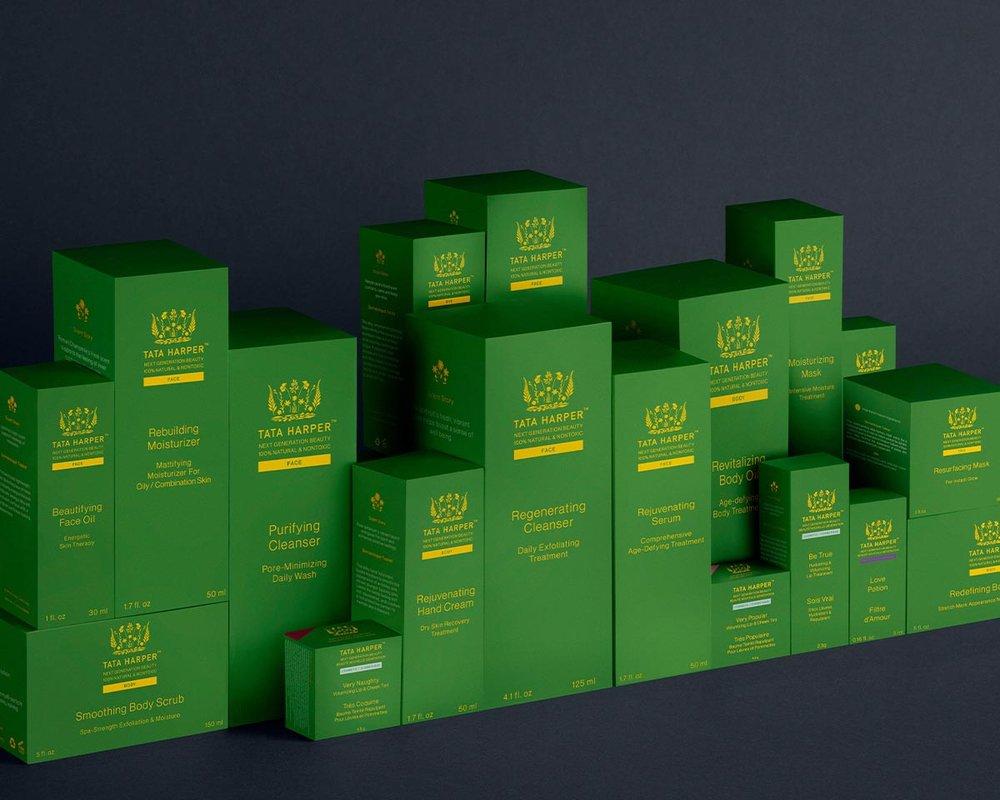 Tata Harper full skincare product line