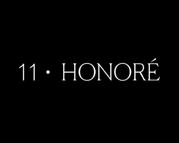 11 Honoré custom logo, branding by RoAndCo Studio