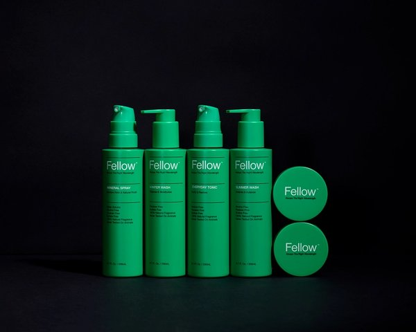 Fellow product suite, branding and packaging design by RoAndCo