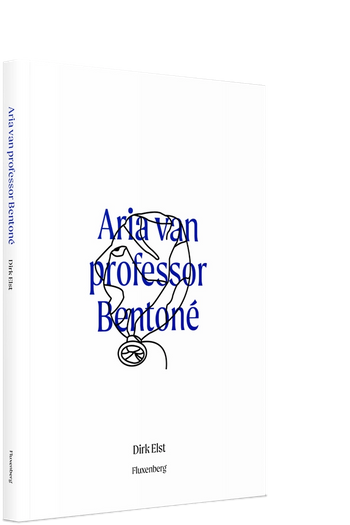 Omslag van Aria van professor Bentoné