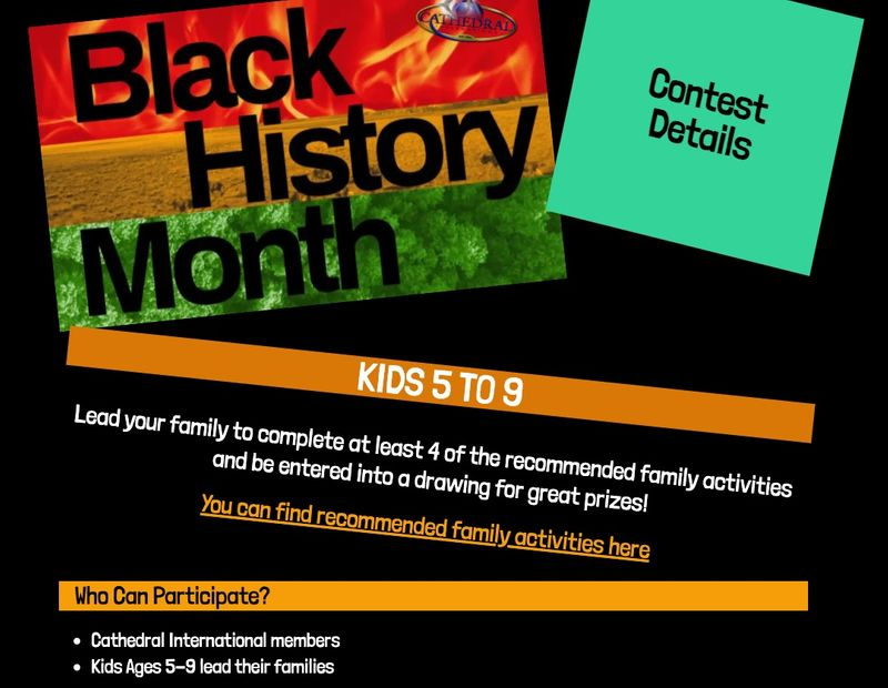 Black history month contests