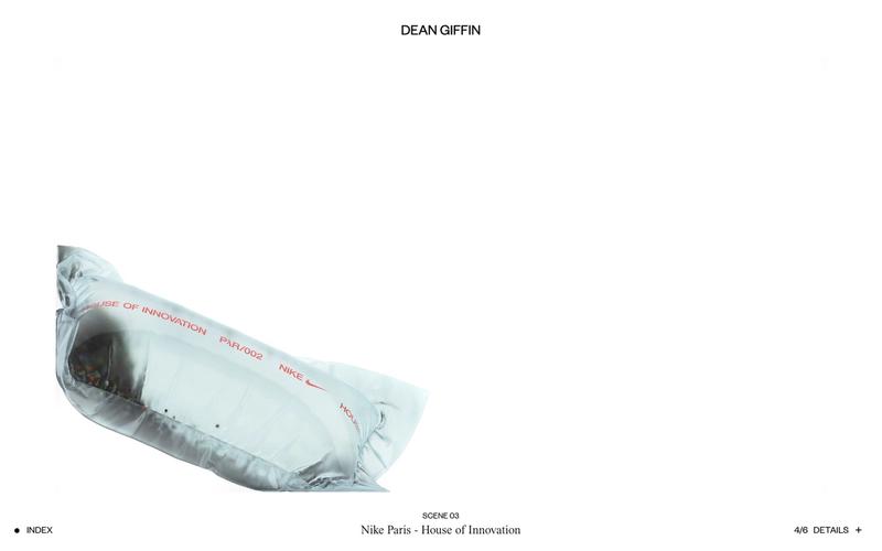 Dean Giffin – website view
