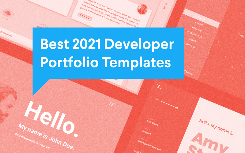 Best 2021 Developer Portfolio Templates