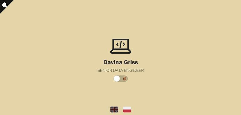 Dorota's Portfolio Screenshot