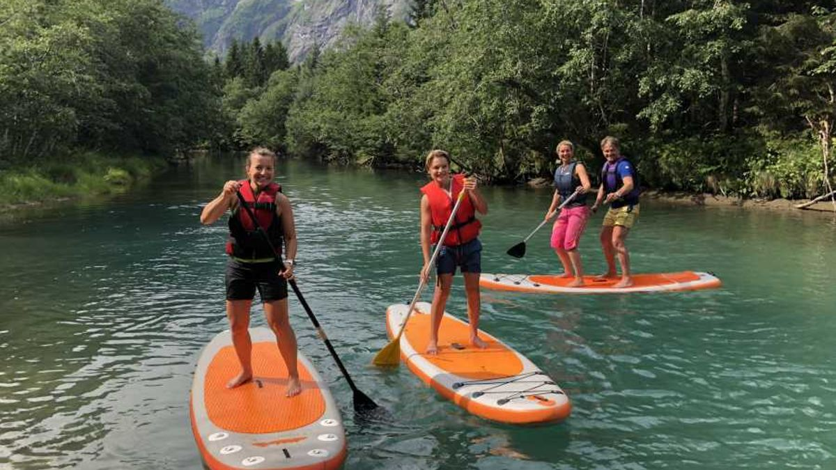SUP tur på Istra