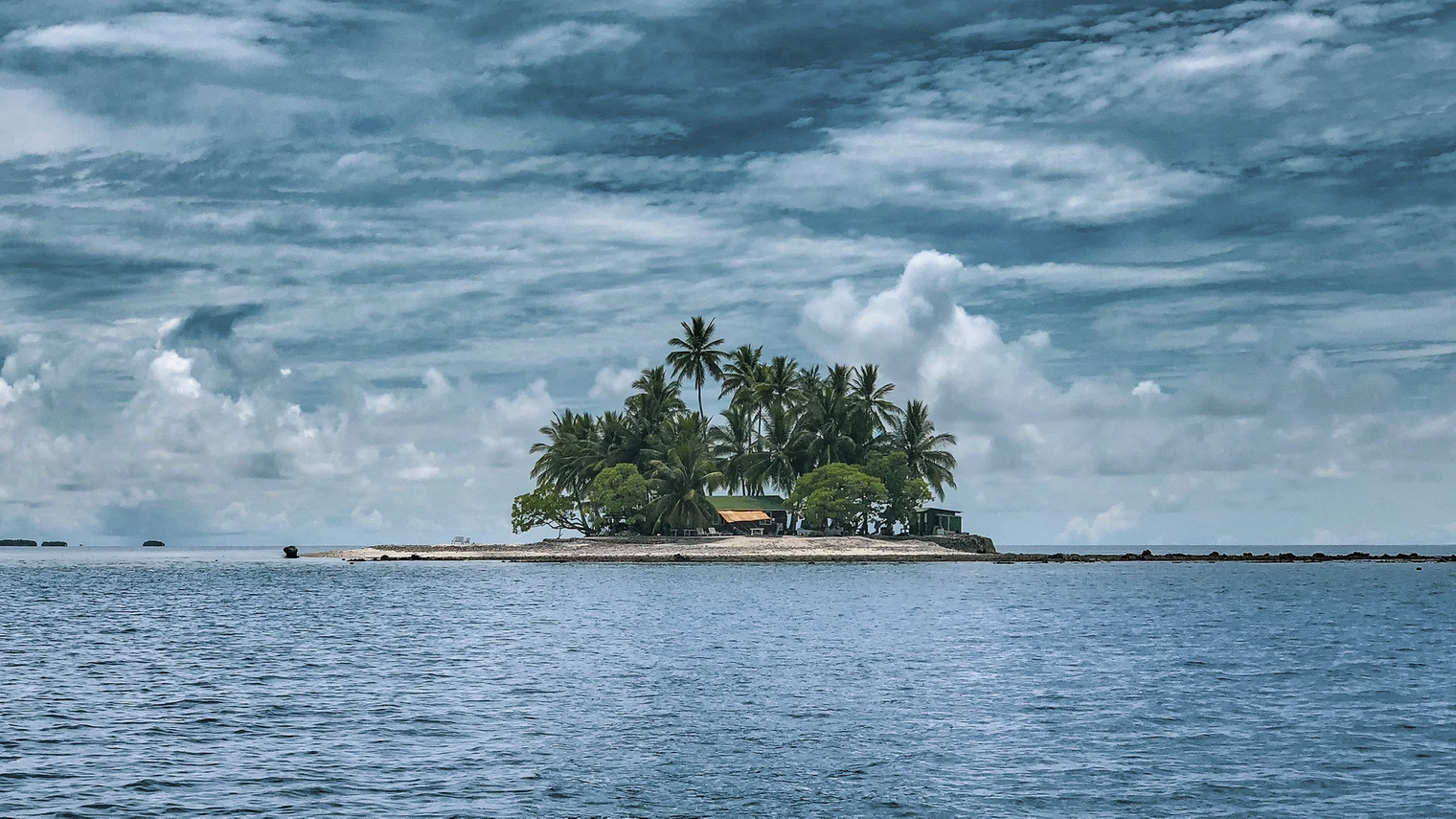 Even a South Pacific island costs less than a typical Aussie home