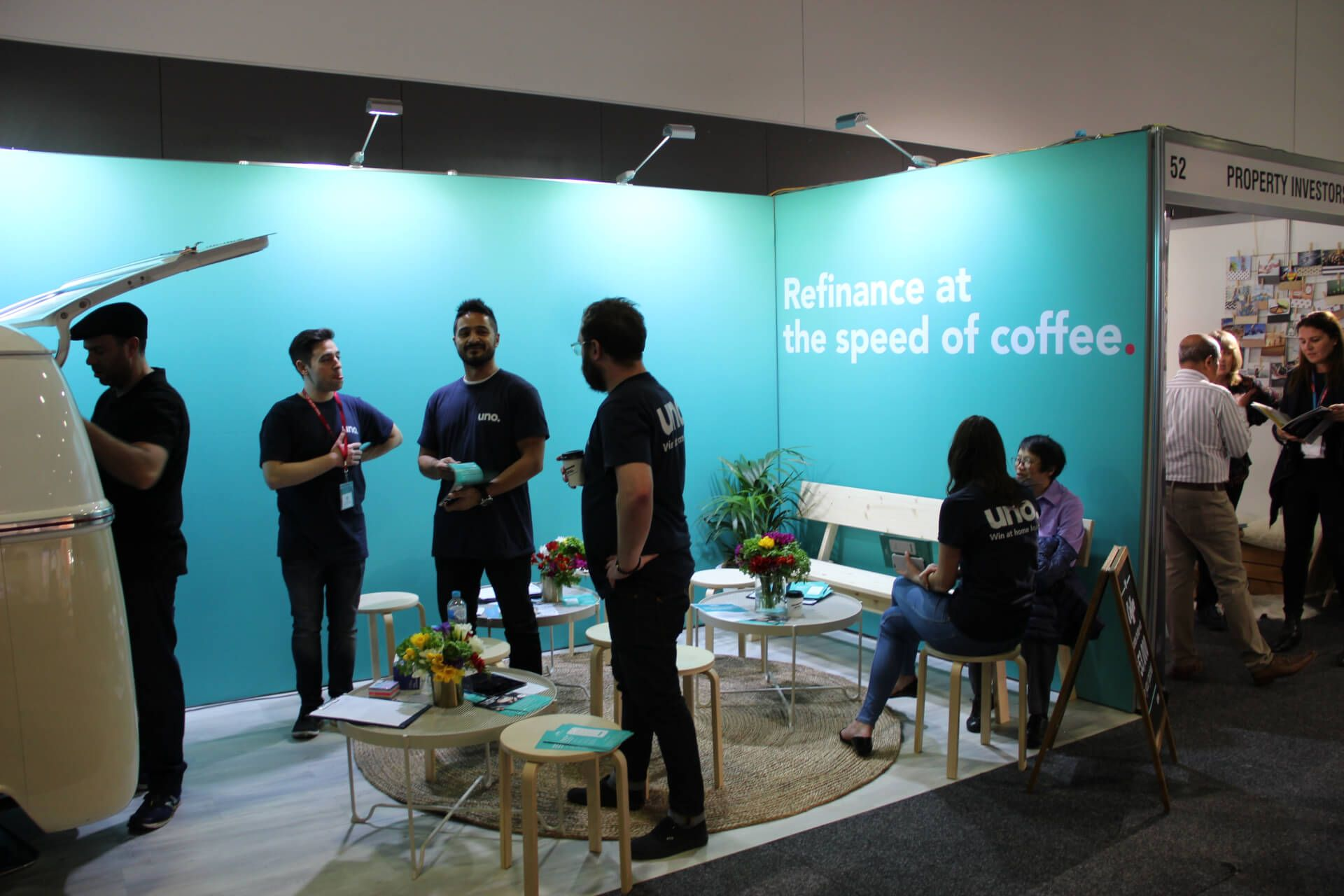 uno shows Property Buyer Expo how to win at home loans