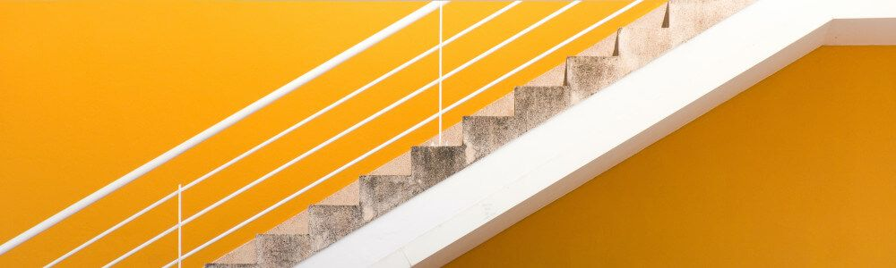 Continuous improvements is like climbing stairs one step at a time.