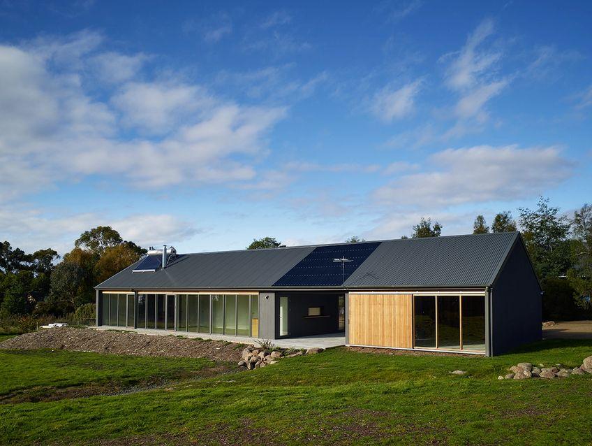 tasmanian house built with clinka products