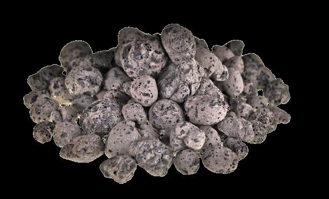 Closeup shot of ClinkaFILL clay aggregate