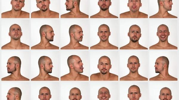 Multiple images of a man