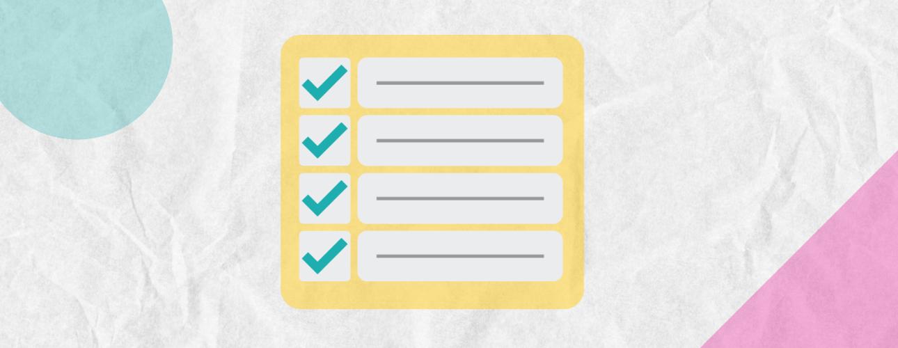 NFP website copy checklist