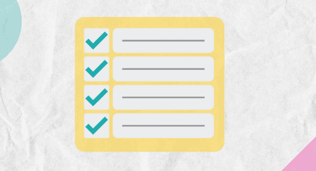 NFP website copy checklist