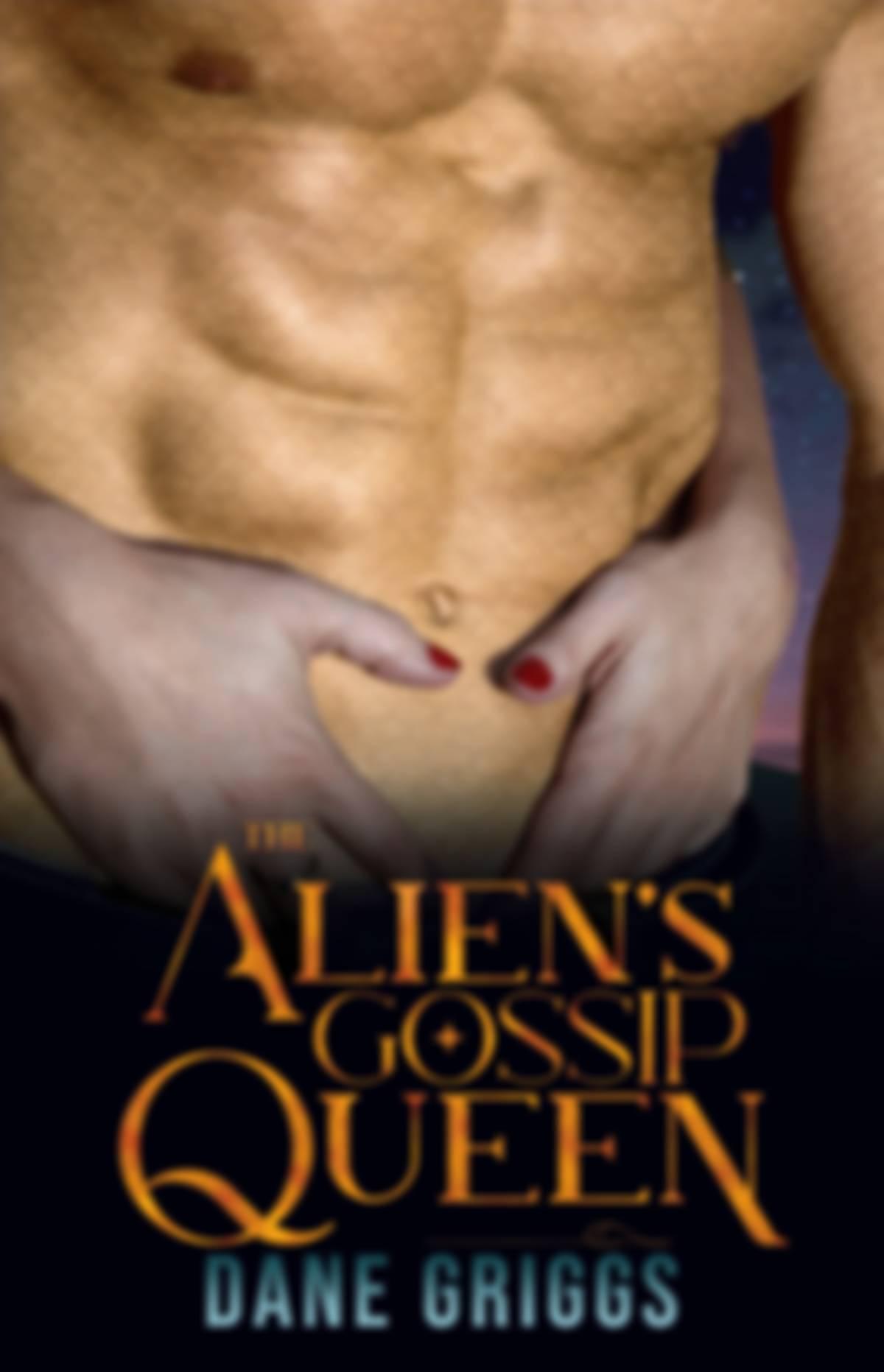 The Alien's Gossip Queen book cover